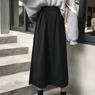 Chogen - Midi A-line Skirt