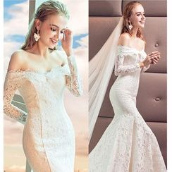 MSSBridal - Mermaid Lace Wedding Gown