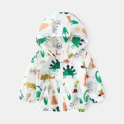 Seashells Kids - Kids Printed Hooded Zip Jacket