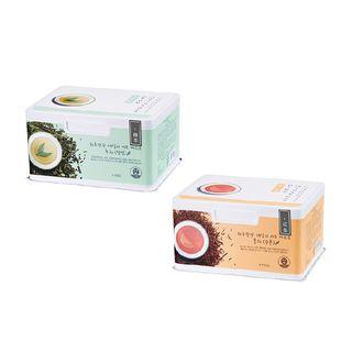 奥普 - 红茶\绿茶抽取式面膜