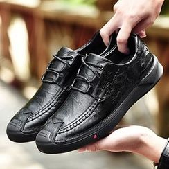 MARTUCCI - Genuine Leather Slip-Ons