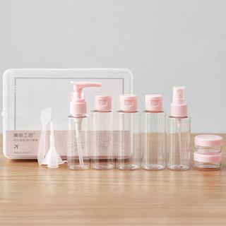 Beauty Artisan - Set of 9: Travel Bottles