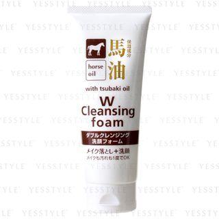 Cosme Station - Kumano Horse Oil W Cleansing Foam