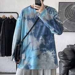 SuperLittle - Long Sleeve Tie Dye T-Shirt