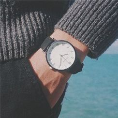 Bababy - Faux-Leather Strap Watch