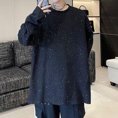 Lamow - Long-Sleeve Glitter T-Shirt