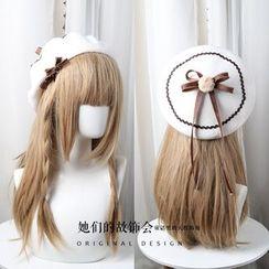 AOI - 飾蝴蝶結貝雷帽 (多款設計)