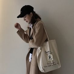 Spagitaur - Canvas Applique Tote Bag