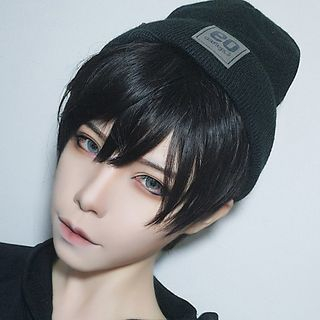 Aynu - 角色扮演假髪 - 直筒