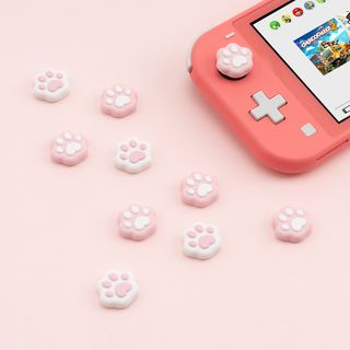 ZYUN - Silicone Cat Paw Nintendo Switch Thumb Grip Cap