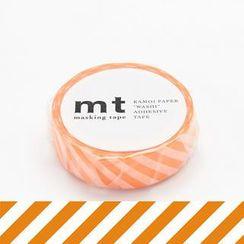 mt - mt Masking Tape : mt 1P Stripe Orange