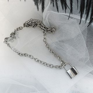 True Glam - Lock Chain Necklace / Bracelet