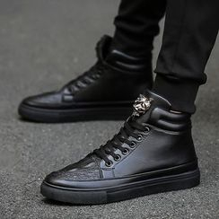 LOKRO - High Top Lace Up Sneakers