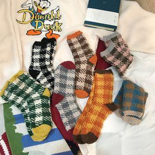 Small Planet - 格子袜子 / 套装