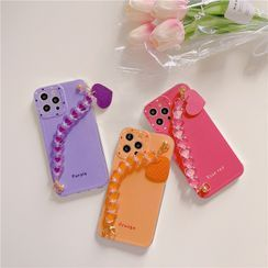 Lampascione - Plain Strap Phone Case -12 /12pro / 12pro Max / 12mini /11 / 11pro / 11pro Max / Se2 / 7 / 7 Plus / 8 / 8 Plus / X/ Xr / Xs / Xs Max /