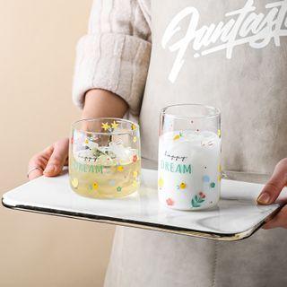Kawa Simaya - Print Glass Drinking Cup