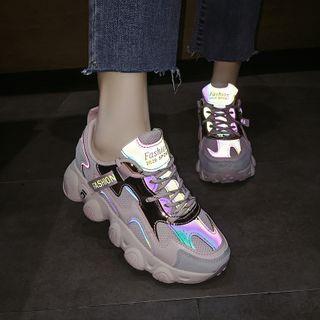 Cymbeline - 厚底系带休閒鞋