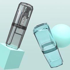 Bandify - Travel Toothbrush Case / Pump Bottle