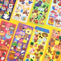 iswas - ''Juicy Bear'' Series Deco Stickers