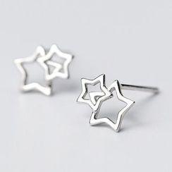 A'ROCH - S925 Sterling Silver Star Earring