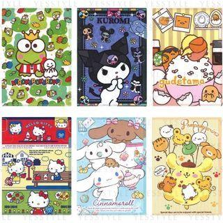 Sanrio - A4 Plastic Folder 2020 Edition - 16 Types