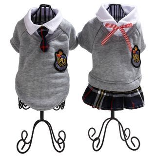 Dazzfur - School Uniform Pet Top / Pet Dress
