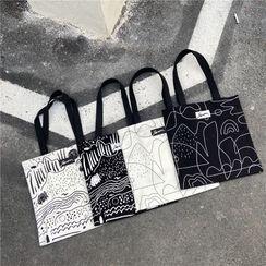 Milha - Print Canvas Tote Bag