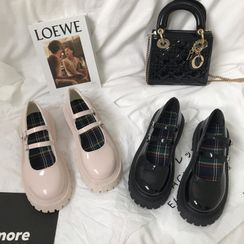 DURAC - Platform Mary Jane Shoes