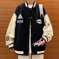 GRAYCIOUS - Baseball Jacket