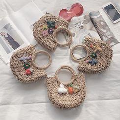 Utin - 编织手提包