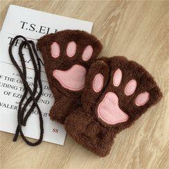Sisyphi - Paw Fingerless Gloves