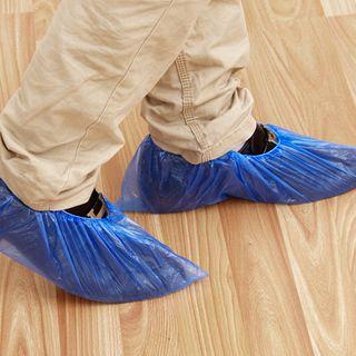 KIizzi - Disposable Plastic Shoe Covers
