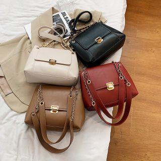FAYLE - Chain Plain Crossbody Bag