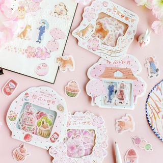 OH.LEELY - Food Sticker (various designs)