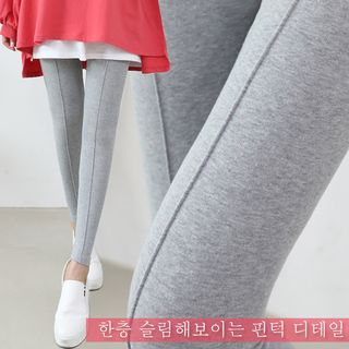 Seoul Fashion - Seam-Trim Leggings
