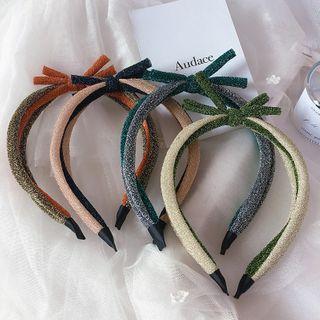 Sweet la Vie - Kids Glitter Bow Headband