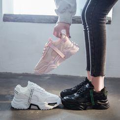 FRAISO - 厚底系带休閒鞋