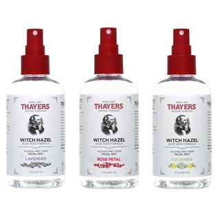 THAYERS - Alcohol-Free Witch Hazel With Aloe Vera Toner Facial Mist, 8 fl oz (3 Types)