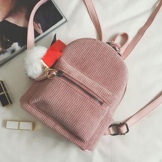MISS RETRO - Corduroy Lightweight Backpack