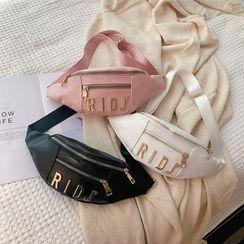 Perlin - Lettering Zip Belt Bag