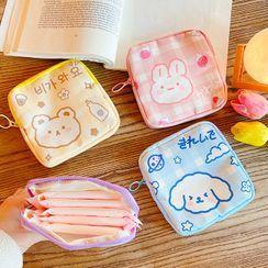 Eranso(エランソ) - Animal Print Sanitary Pouch