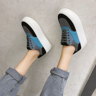 QQ Trend(キューキュートレンド) - Platform Sneakers