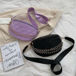 7th Rainbow - Faux Leather Belt Bag