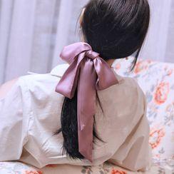 MISHORE - Plain Narrow Scarf / Hair Tie