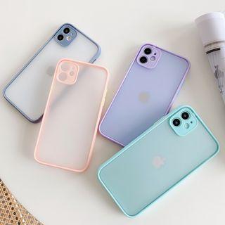 Wild Pony - Transparent Frosted Phone Case - iPhone 12 Pro Max / 12 Pro / 12 / 12 mini / 11 Pro Max / 11 Pro / 11 / XS Max / XS / XR / X / 8 / 8 Plus / 7 / 7 Plus / 6s / 6s Plus