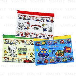 Sanrio - A4 Nylon Zipper Folder - 12 Types