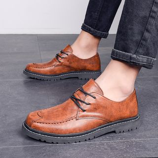 MARTUCCI - Faux Leather Oxfords