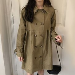 Ashlee - Double Breasted Trench Coat