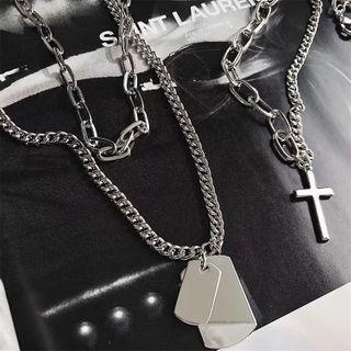 Koiyua - Couple Matching Metal Necklace