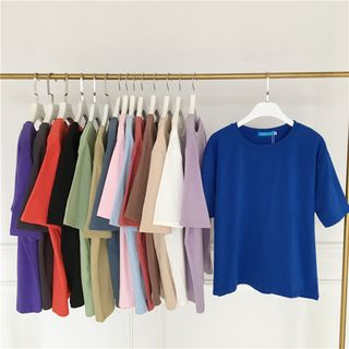 monroll - Crew-Neck Short-Sleeve T-Shirt